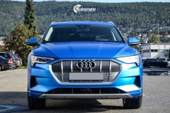Audi e-tron helfoliert med Satin Perfect Blue fra 3M-10