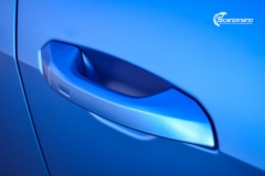 Audi e-tron helfoliert med Satin Perfect Blue fra 3M-15