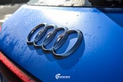 Audi e-tron helfoliert med Satin Perfect Blue fra 3M-17