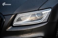 Audi Q5 helfoliert i Matt Diamond Black fra PWF-12