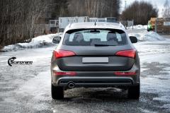 Audi Q5 helfoliert i Matt Diamond Black fra PWF-6