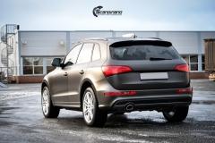 Audi Q5 helfoliert i Matt Diamond Black fra PWF-7