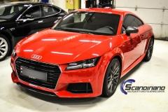 Audi TT delfoliert i Gloss carbon Scandinano_-7