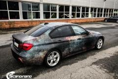 BMW 3 serie custom rust design_-11