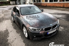 BMW 3 serie custom rust design_-13