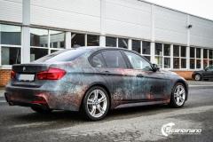 BMW 3 serie custom rust design_-3