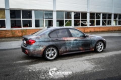BMW 3 serie custom rust design_-4