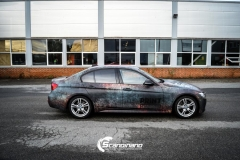 BMW 3 serie custom rust design_-5