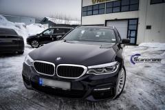 BMW 5 serie foliert i Lakkbeskyttelsesfilm Scandinano_-11