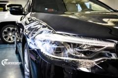 BMW 5 serie foliert i Lakkbeskyttelsesfilm Scandinano_-2