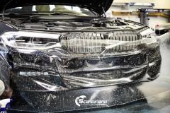 BMW 5 serie foliert i Lakkbeskyttelsesfilm Scandinano_-7