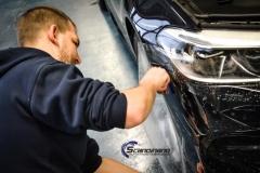 BMW 5 serie foliert i Lakkbeskyttelsesfilm Scandinano_-8
