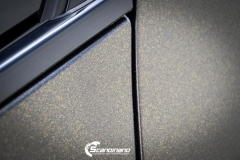 BMW 5 serie foliert Satin Gold Dust Black_-4