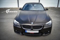 BMW 5 serie foliert Satin Gold Dust Black_-7