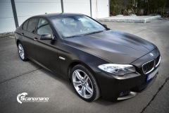 BMW 5 serie foliert Satin Gold Dust Black_-8
