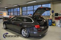 BMW 5 Series (F10) foliert blue