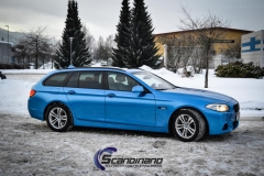BMW 5 Series (F10) foliert Scandinano (13 of 15)