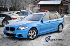 BMW 5 Series (F10) foliert Scandinano (14 of 15)