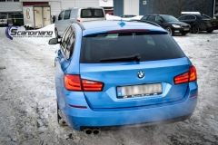 BMW 5 Series (F10) foliert Scandinano (15 of 15)