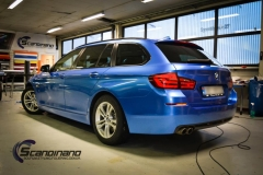 BMW 5 Series (F10) foliert Scandinano (3 of 15)