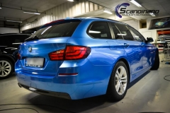 BMW 5 Series (F10) foliert Scandinano (4 of 15)