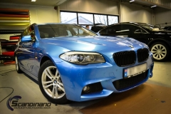 BMW 5 Series (F10) foliert Scandinano (6 of 15)