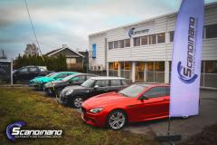 BMW 6s foliert med red