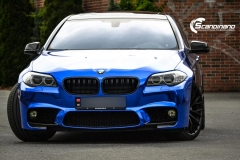 BMW blue Chrome Scandinano_
