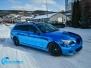 BMW E60 foliert med bla krom