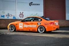 BMW-E92-M3-profilert-i-Jagermeister-stil-0147