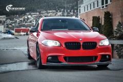 BMW Helfoliert i Gloss Hotrod Red fra 3M