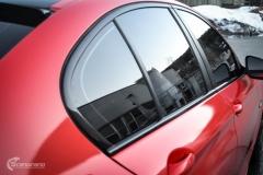 BMW Helfoliert i Gloss Hotrod Red fra 3M-10