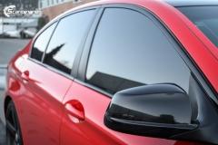 BMW Helfoliert i Gloss Hotrod Red fra 3M-11