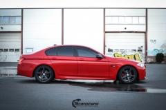BMW Helfoliert i Gloss Hotrod Red fra 3M-3