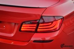 BMW Helfoliert i Gloss Hotrod Red fra 3M-7