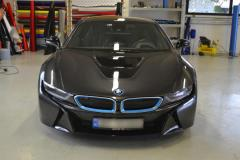 BMW I8 foliert med red
