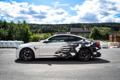 BMW M4 foliert med camo design-1