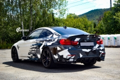 BMW M4 foliert med camo design-10