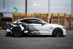 BMW M4 foliert med camo design-6