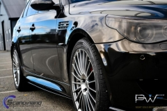 BMW M5 foliert i night gold mett-10
