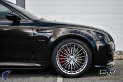 BMW M5 foliert i night gold mett-5