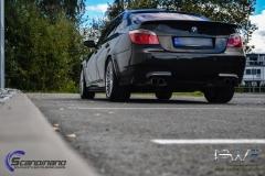 BMW M5 foliert i night gold mett-6