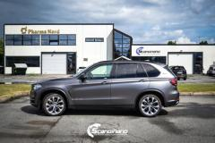 BMW X5 foliert matt dark gray