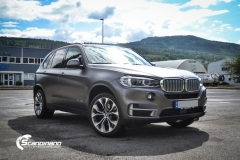 BMW X5 foliert matt dark gray Scandinano_-6