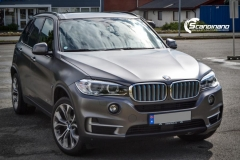 BMW X5 foliert matt dark gray Scandinano_-7