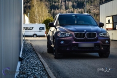 BMW X5 foliert i matt midnight purple pwf-4