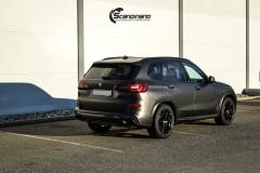 BMW X5 Helfoliert i Matt Diamond Black fra PFW-4