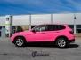 BMW X5 rosa solfilm 20 fra b stolpe og bakover