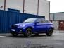 BMW X6 foliert med Gloss Blue