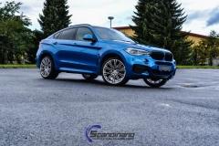 BMW X6 m foliert i ultra bla metallic-10